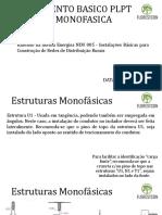 TREINAMENTO BASICO REDE MONOFÁSICO