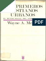 Wayne Meeks - Los Primeros Cristianos Urbanos