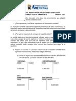 PRIMER PARCIAL REGISTRO DE OPERACIONES CONTABLES