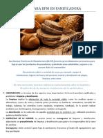 INSTRUCTIVO PARA BPM EN PANIFICADORA