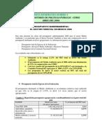 Nota Info 4 Presupuesto Sector Forestal 2006