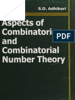 Aspects of combinatorics and combinatorial number theory_nodrm