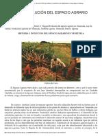 HISTORIA Y EVOLUCIÓN DEL ESPACIO AGRARIO DE VENEZUELA _ Geografiaucv's Weblog
