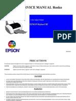 Epson C82 Service Manual