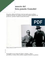 Pasión y muerte del vanguardista puneño Gamaliel Churata