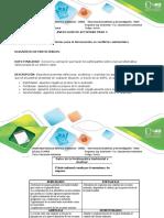 EDUCACION AMBIENTAL Paso 3. Herramientas para la intervención en conflictos ambientales GRUPO