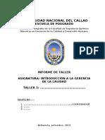 ESTRUCTURA PARA INFORMES DE TALLERES FIQ