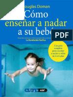 Como enseñar a nadar a su bebé