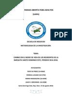 TRABAJO FINAL DE METODOLOGIA DE LA INVESTIGACION