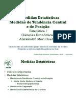 A2. Medidas de Tendência Central e de Posição - aula - impressão