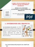 TEMA 9  ESTUDIO ECONOMICO Y FINANCIERO  DEL PROYECTO