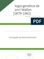 AULA 10 - WALLON