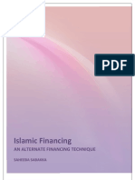 Project Report - Islamic Finance