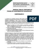 CONCURSO_POSCONFLICTO_simulacro_pruebas_conocimientos_pedagogicos_CUESTIONARIO_II