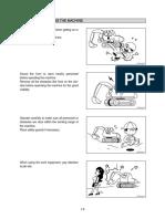 1-2 Reglas de seguridad durante la operación