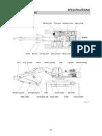 2-1 Especificaciones componentes mayores