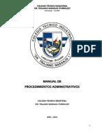 MANUAL DE PROCEDIMIENTOS ADMINISTRATIVO CTNI.pdf