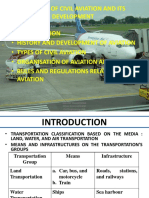 History of Civil Aviation and Its Development
