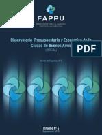 Observatorio Economico y Presupuestario CABA Setiembre 2010 Informe5
