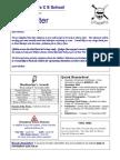 Newsletter 6 Nov 2009