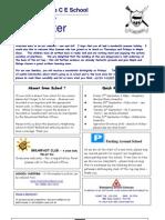 Newsletter 10 Sept 2010