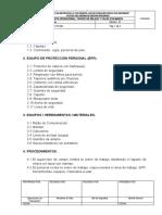 PRO-PE-004 TAPADO DE RELAVE  Y TALUD CON MANTAS