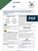 Newsletter 11 June 2010