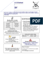 Newsletter 11 Sept 2009