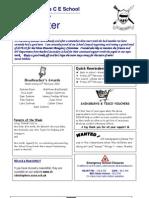 Newsletter 12 Feb 2010