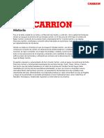 Carrion Informe