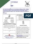 Newsletter 20 November 2009