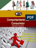 Comportamiento del consumidor ESTUDIANTES 2012