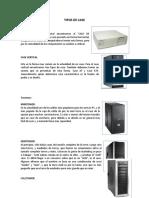 TIPOS DE CASE
