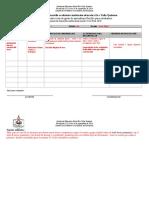 Registro de actividades para escenario flexible de aprendizaje