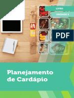 Planejamento de Cardapio Livro 3
