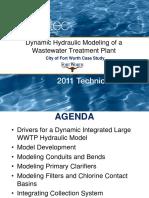 Dynamic Hydraulic Modeling of a Wastewater Treatment Plant.pdf