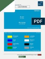 Aula 9.3 - Vocabulário Cores - Tus Clases de Portugués