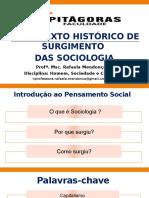 Aula 2 e 3 _ Surgimento das Ciencias sociais.pptx