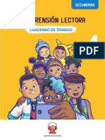 Comprension Lectora 4 Secundaria Cuaderno