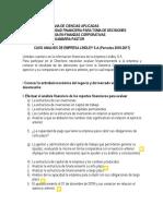 Caso Analisis Financiero de Lindley