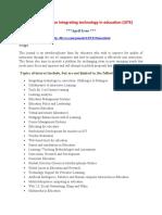 International on Integrating technology in education (IJITE)