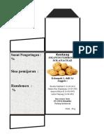 soalanum tuberosum