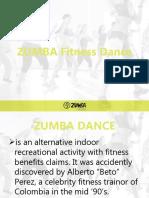 ZUMBA Fitness Dance PPT