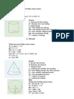 tabel benda fisika