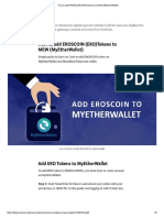 How to add EROSCOIN (ERO)Tokens to MEW (MyEtherWallet).pdf