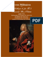 Livres militaires dans la Bibliothèque de Feu Marechal d'Estrées (1660-1737)