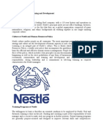 Case Study of Nestle Training and Development