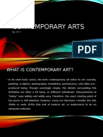 Contemporary-Arts-PPT
