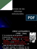 Reformas Estructurales Alessandri a Junta de Gobierno.ppt