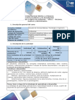 Algebra Lineal E learning Guía de actividades y rúbrica de evaluación - Tarea 1 - Vectores, matrices y determinantes.pdf